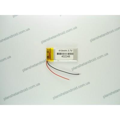 Аккумуляторная батарея 410 мАч для блютуз гарнитуры и GPS