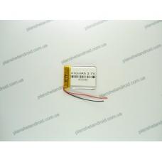 Батарея 2-х контактная 3.7V, 420 mAh, 4x30x35mm