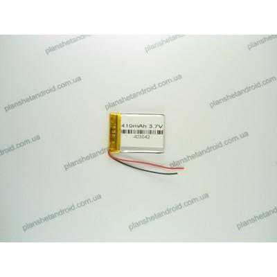Аккумуляторная батарея для планшетa 420 mAh с двумя контактами