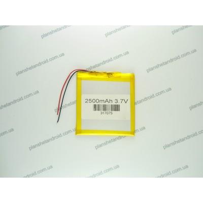 Аккумуляторная батарея 2500 мАч с напряжением 3.7 V