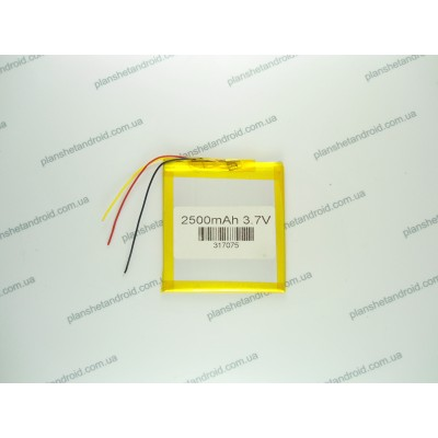 Батарея 2500 mAh 3 контакта для планшетов 7