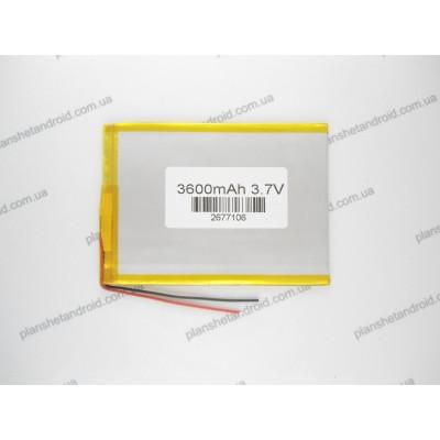 Батарея 4000 mAh для планшетов китайского производства