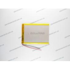 Батарея для планшета 3.7V, 3000mAh, 3.3x69x94mm