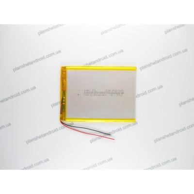 Батарея для планшета 3000 mAh 2 контакта тонкая