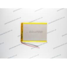 Батарея для планшета 3.7V, 3000mAh, 3.0x70x96mm