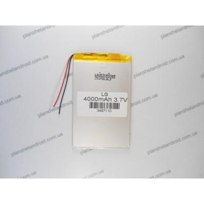 Аккумуляторная батарея для планшетов  Ipad,  Samsung, Ltnovo, Ainol и других с экраном 7-10 дюймов
