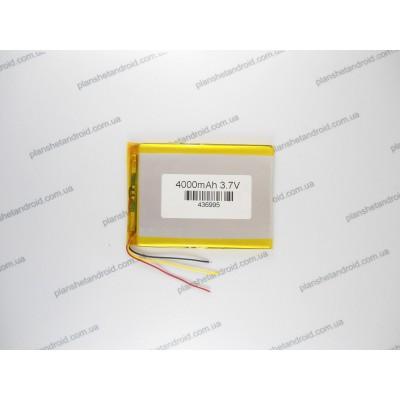 Аккумуляторная батарея для планшетa 4000 mAh 3 контакта