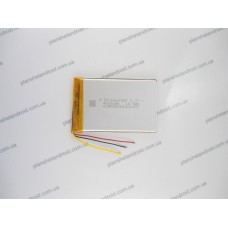 Аккумулятор для планшета и GPS 3.7V 4000 mAh 6,0x60x90 mm 3-х контактная