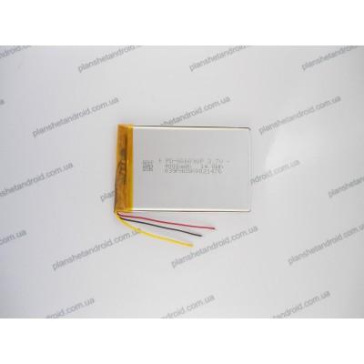Литий полимерная батарея для планшетов и GPS 4000 mAh