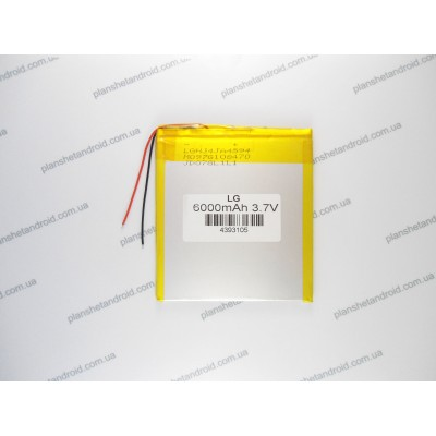 Аккумуляторная батарея для планшета 3.7 V с большой емкостью