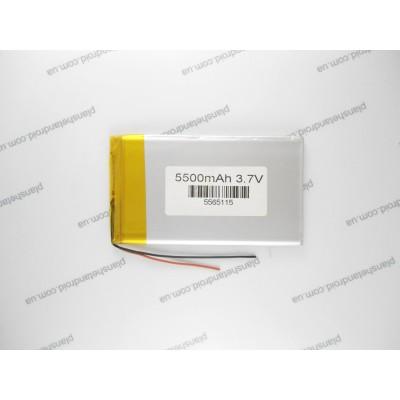 Батарея 5500 mAh для планшетов китайского производства с экранов 8-10 дюймов