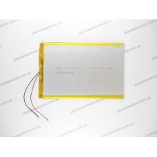 Батарея для планшета 3.7V, 6000mAh, 3.0x100x140mm