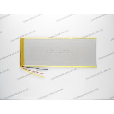 Аккумуляторная батарея 6000mAh для планшета
