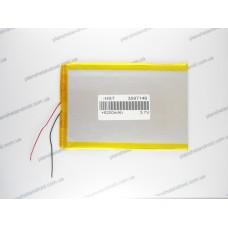 Батарея для планшета 3.7V, 6200mAh, 3.2x97x144mm