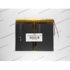 Батарея для планшета 3.7V, 7600mAh, 3.4x110x134mm