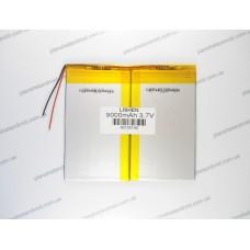 Батарея для планшета 3.7V, 9000 mAh, 3.6x125x140mm