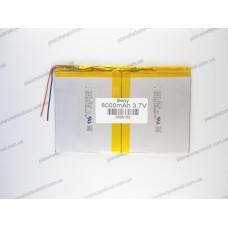 Аккумуляторная батарея для китайских планшетов 3.7V 8000mAh 3,6-99-152mm
