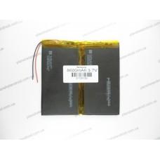 Батарея для планшета 3.7V, 8600mAh, 3.7x125x130mm
