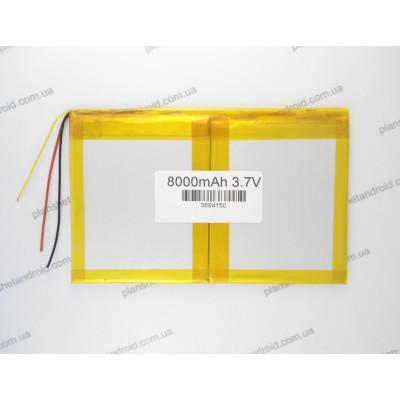 Батарея 8000mAh для китайских планшетов 3-х контактная