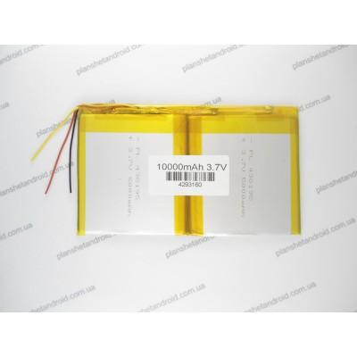 Мощная батарея 10000 mAh для планшета 3-х контактная