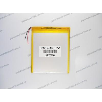 Батарея 8000mAh для планшета Cube SmartQ Onda PIPO Sanei Ampe