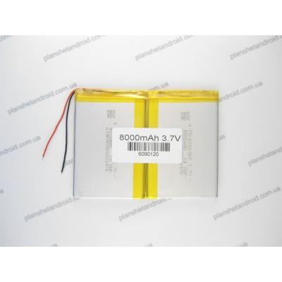 Батарея 8000mAh для планшета Cube SmartQ Onda PIPO Sanei Ampe 3.7V