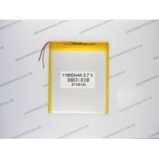 Внешний усиленный аккумулятор 3.7V, 11600mAh, 8.7x100x120mm