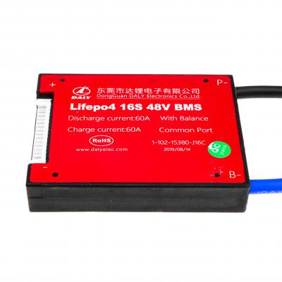Купить BMS плата Lifepo4 48V 16S 60A симметрия