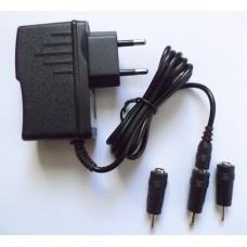 Зарядное сетевое универсальное  9V 2A (2mm, 2.5mm, 3.5mm)